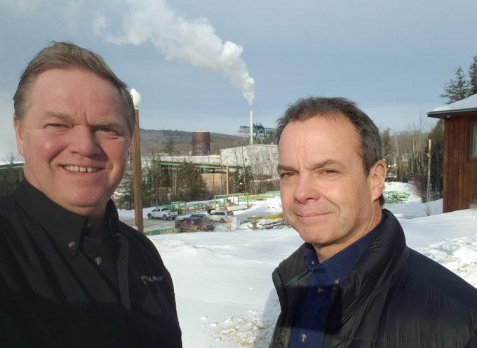 Blogue #6 - S. Huot et Jack chez Irving à Dixfield ME - 23 janvier 2020